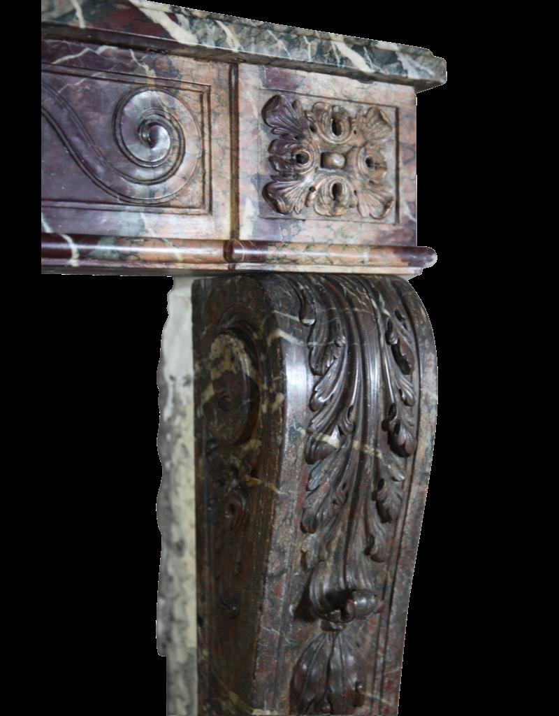 18. Jahrhundert Groß Französisch Jahrgang Kamin Maske