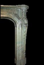Gran Verde Mármol Del Siglo 19 Antiguo Chimenea