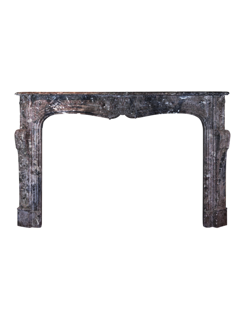 Exceptional 18Th Century Antique Marble Fireplace Surround