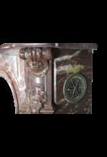 18. Jahrhundert Periode Groß Chique Jahrgang Kamin Maske