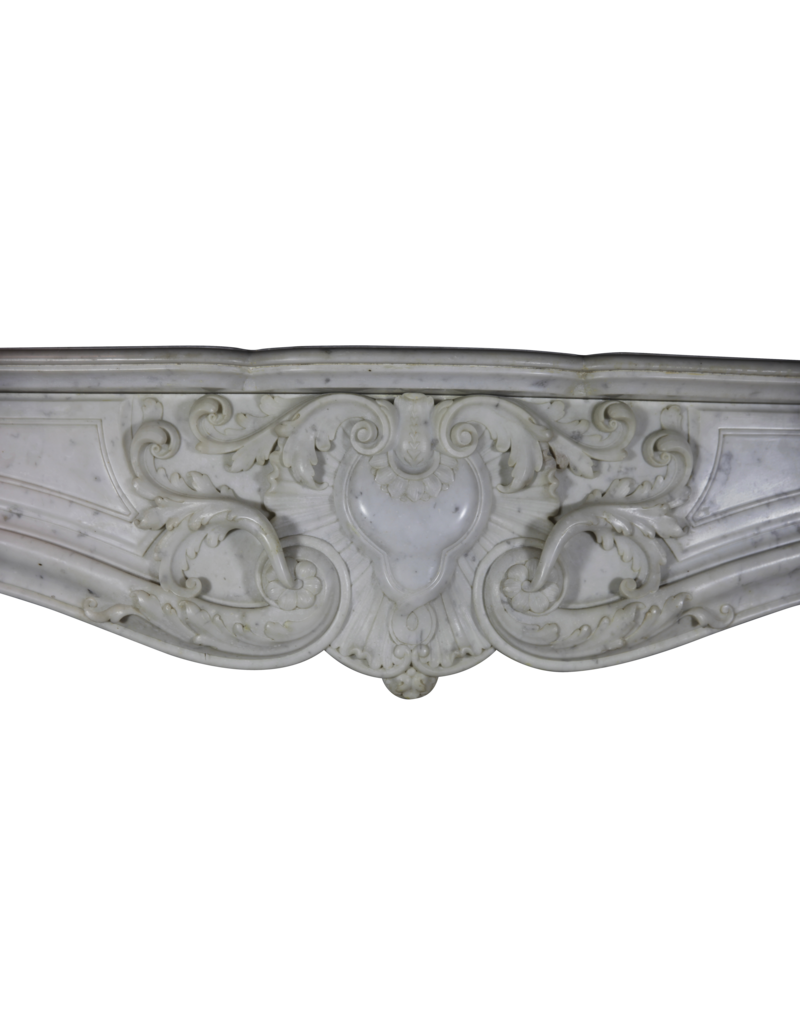 The Antique Fireplace Bank Exceptional French Belle Epoque Rococo Style Antique Fireplace Surround