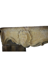 18Th Century Country Fireplace Surround In Limestone