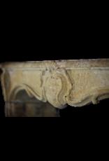 The Antique Fireplace Bank 18. Jahrhundert Land Kamin Maske Im Kalkstein