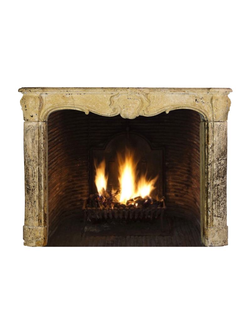 The Antique Fireplace Bank 18Th Century Country Fireplace Surround In Limestone