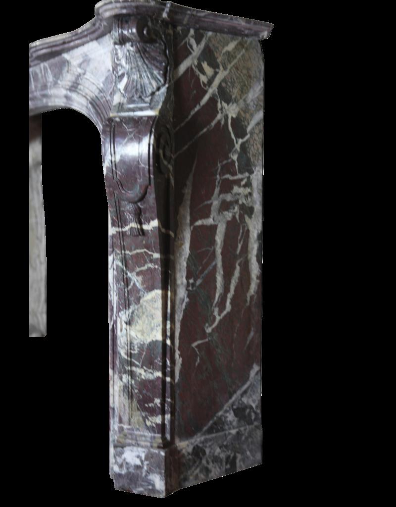 The Antique Fireplace Bank Historische Multi Color Marmor Jahrgang Kamin Maske
