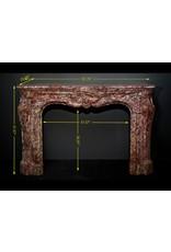 The Antique Fireplace Bank Monumental Französisch Antike Kamin Maske In Reiche Farben-Marmor