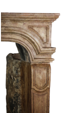 The Antique Fireplace Bank 17Th Century Fine Antique Marble Stone Chimney Piece