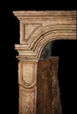 17Th Century Fine Antique Marble Stone Chimney Piece