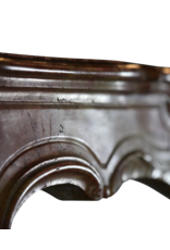 The Antique Fireplace Bank Chique Antike Stein Kamin Maske