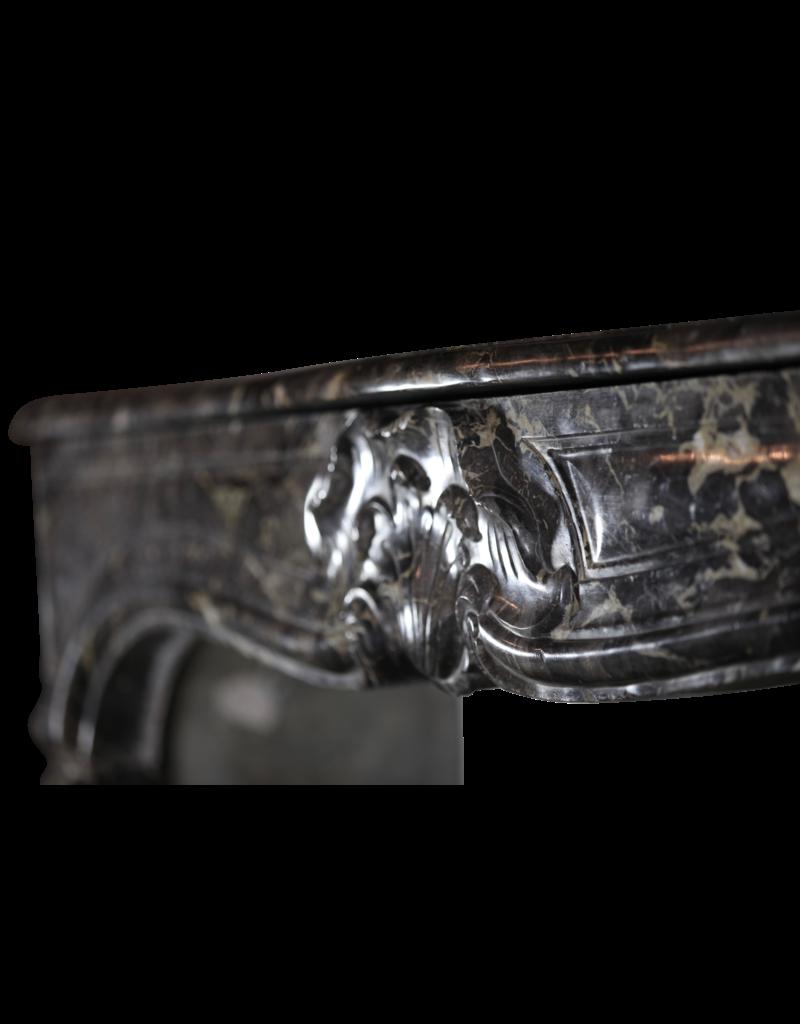 Belgischen 18. Jahrhundert Klassischen Marmor-Kamin Maske