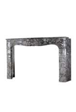 Belgian 18Th Century Classic Marble Fireplace Surround
