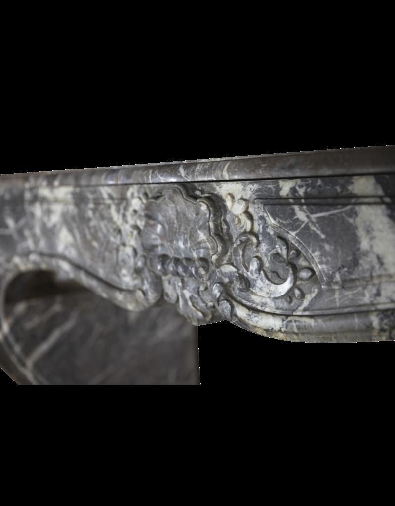 The Antique Fireplace Bank Ungewöhnliche 18. Jahrhundert Antike Kamin Maske In Grau St-Anna Marmor