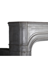 Gran Siglo 17 Francés Antiguo Revestimiento En Gris Piedra Dura