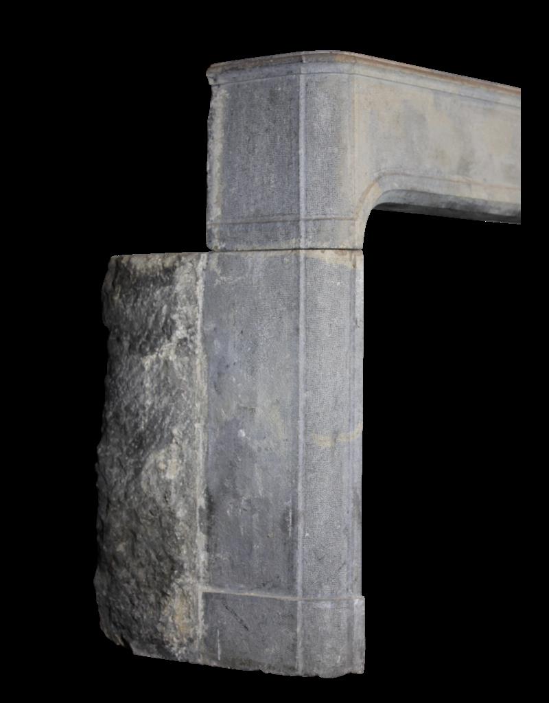 Maison Leon Van den Bogaert Antique Fireplaces & Vintage Architectural Elements Gran Antiguo Del Siglo 17 Revestimiento En Piedra Dura Bicolor