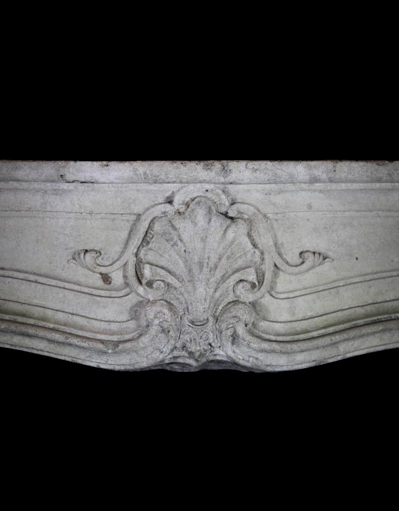 The Antique Fireplace Bank Französisch Des 18. Jahrhunderts Periode Kalkstein Kamin Maske
