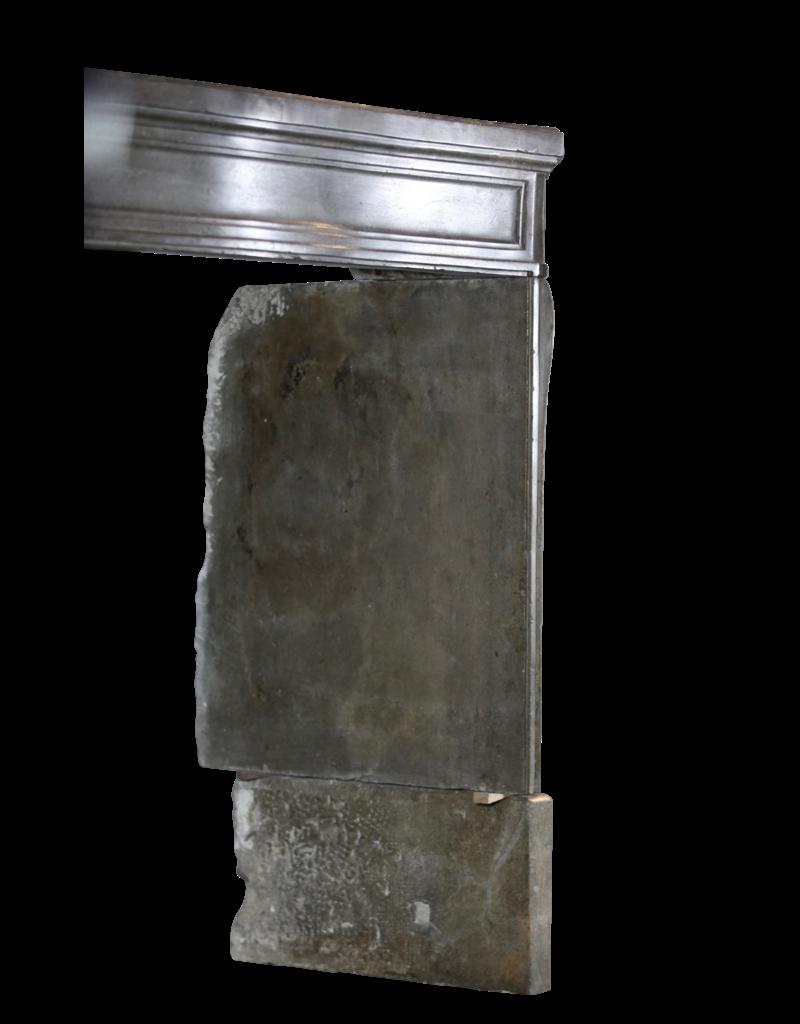 The Antique Fireplace Bank Kleine zeitloses Grau Europäischer Kamin Maske