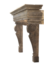 The Antique Fireplace Bank Italienisch Renaiscance Zeitraum Fossil Stein Kamin Maske