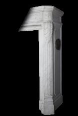Louis XVI Periodo Francés Antiguo Clásico Chimenea