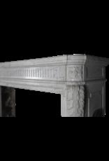The Antique Fireplace Bank Louis XVI Zeitraum Französisch Klassischer Kamin Maske
