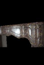 Chique Des 18. Jahrhunderts Antike Marmor Kamin Maske