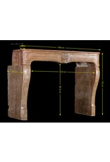 18Th Century Fine Antique Marble Stone Fireplace Surround