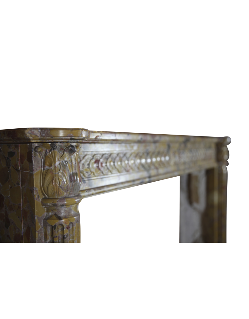 The Antique Fireplace Bank French Chique Marble Antique Fireplace Surround