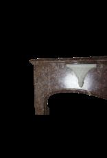Fine Art Deco Marmor Kamin Maske