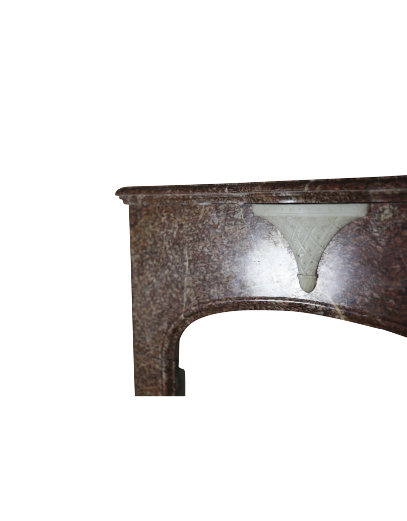 Fine Art Deco Marble Fireplace Surround