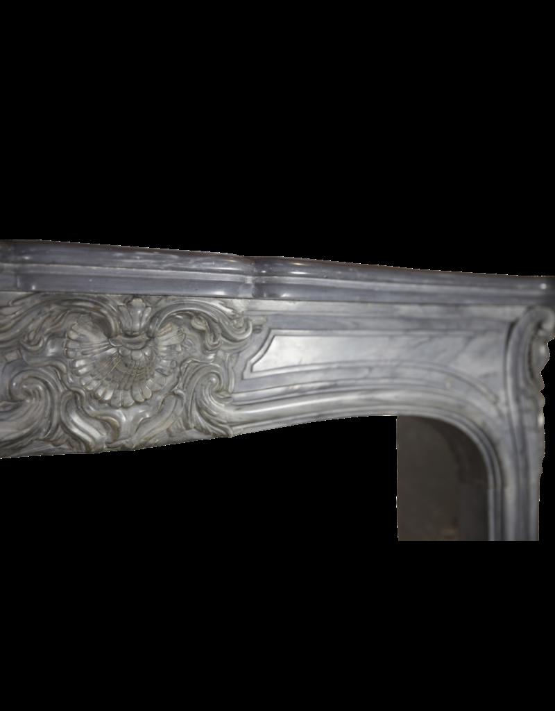 Grand 19Th Century Salon Fireplace Surround In Regency Style