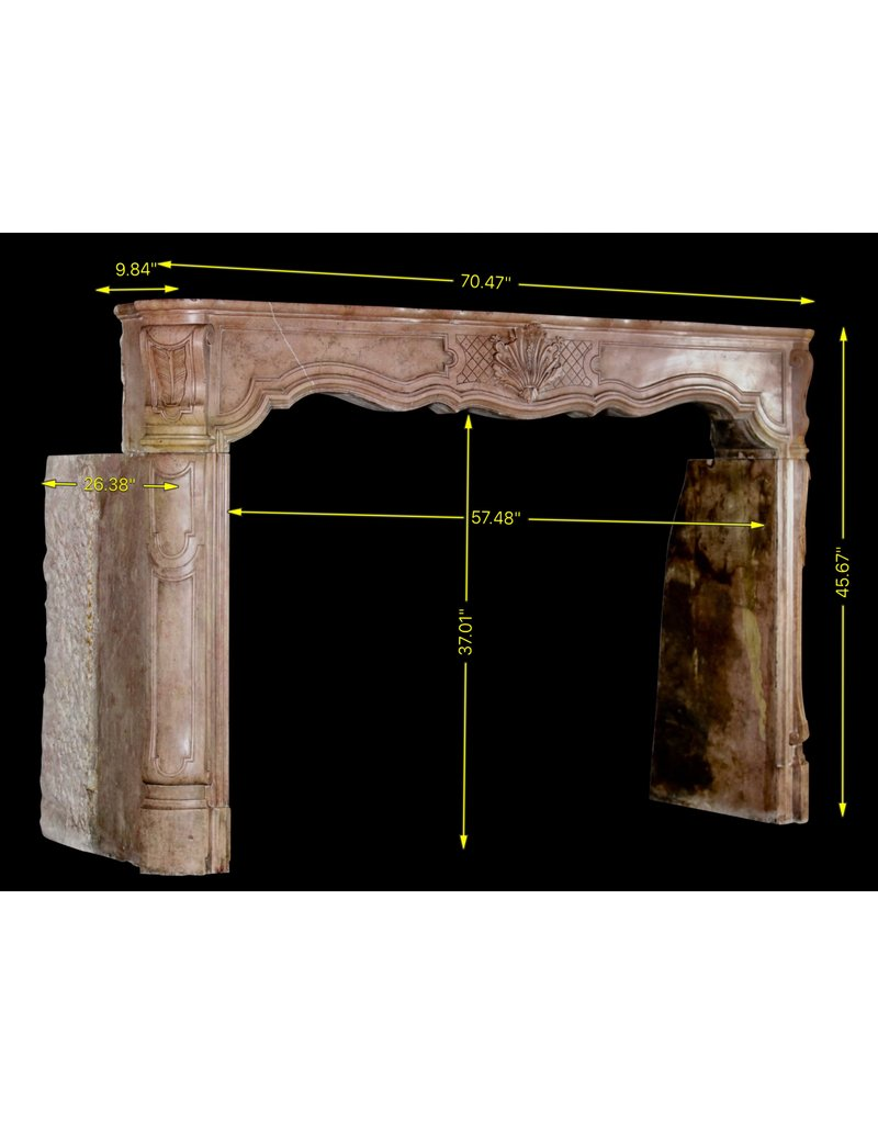 The Antique Fireplace Bank 18Th Century Fine Antique Marble Stone Fireplace Surround