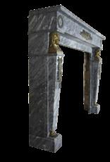Empire Jahrgang Marmor Kamin Maske