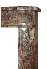 Rich In Color Antique Marble Fireplace Surround