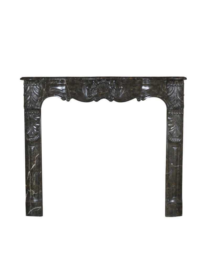 The Antique Fireplace Bank Chique Belgian 18Th Century Period Vintage Fireplace Surround