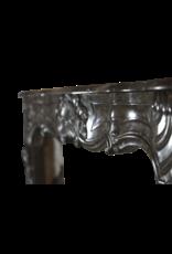 The Antique Fireplace Bank Chique Belgischen 18. Jahrhundert Periode Jahrgang Kamin Maske
