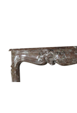 Classic Belgian Regency Period Marble Fireplace Surround