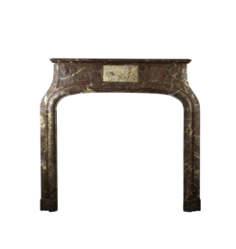 One Of A Kind Fireplace Surround In Marble