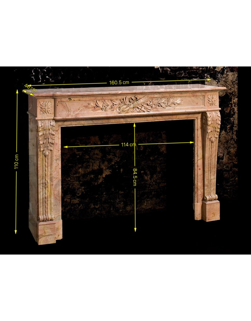 French Special Sealed Directoire Period Fireplace Surround