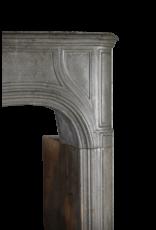 Starkes 18. Jahrhundert Französisch Antike Kamin Maske Im Grauen Stein