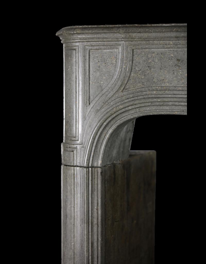 Fuerte Del Siglo 18 Francés Antiguo Revestimiento En Piedra Gris