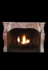 17Th Century Italian Original Antique Fireplace Surround In Stone