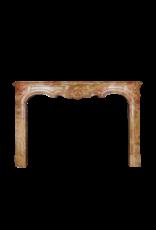18. Jahrhundert Zweifarbig Stein Erstellt Von Natur Französisch Kamin Maske