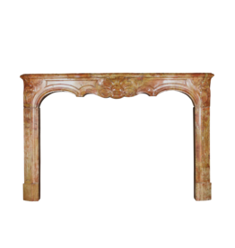 18Th Century Bicolor French Fireplace Surround