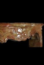 The Antique Fireplace Bank 18. Jahrhundert Zweifarbig Stein Erstellt Von Natur Französisch Kamin Maske