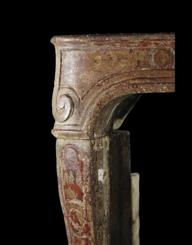 The Antique Fireplace Bank Regentschaft Periode Französisch Chique Land-Art-Antike Kamin Verkleidung