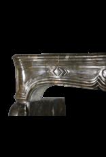Maison Leon Van den Bogaert Antique Fireplaces & Vintage Architectural Elements Fósil De Piedra Siglo 17 Chique Antiguo Francés Revestimiento En La Oscuridad