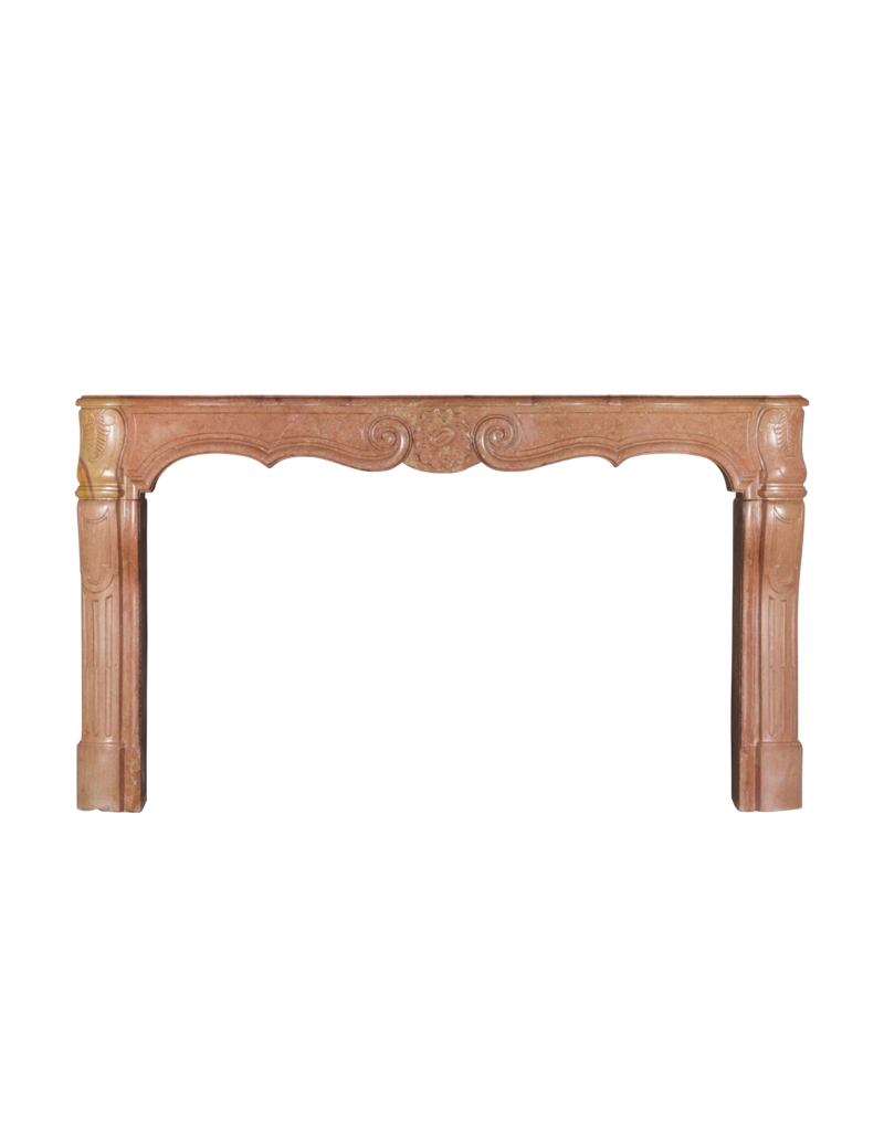 The Antique Fireplace Bank French Bicolor Timeless Limestone Antique Fireplace Surround