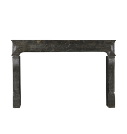 Grand 17Th Century Antique Fireplace Surround In Fossil Hard Stone