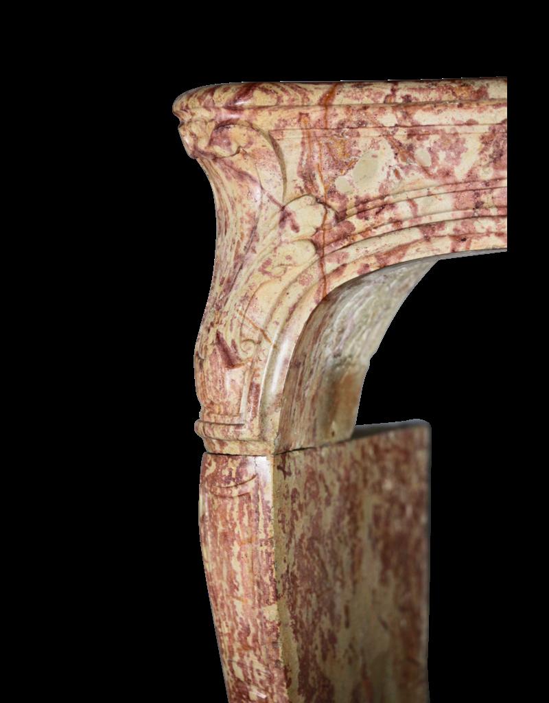 The Antique Fireplace Bank Groß 18. Jahrhundert Zweifarbig Französisch Antik Kamin Maske