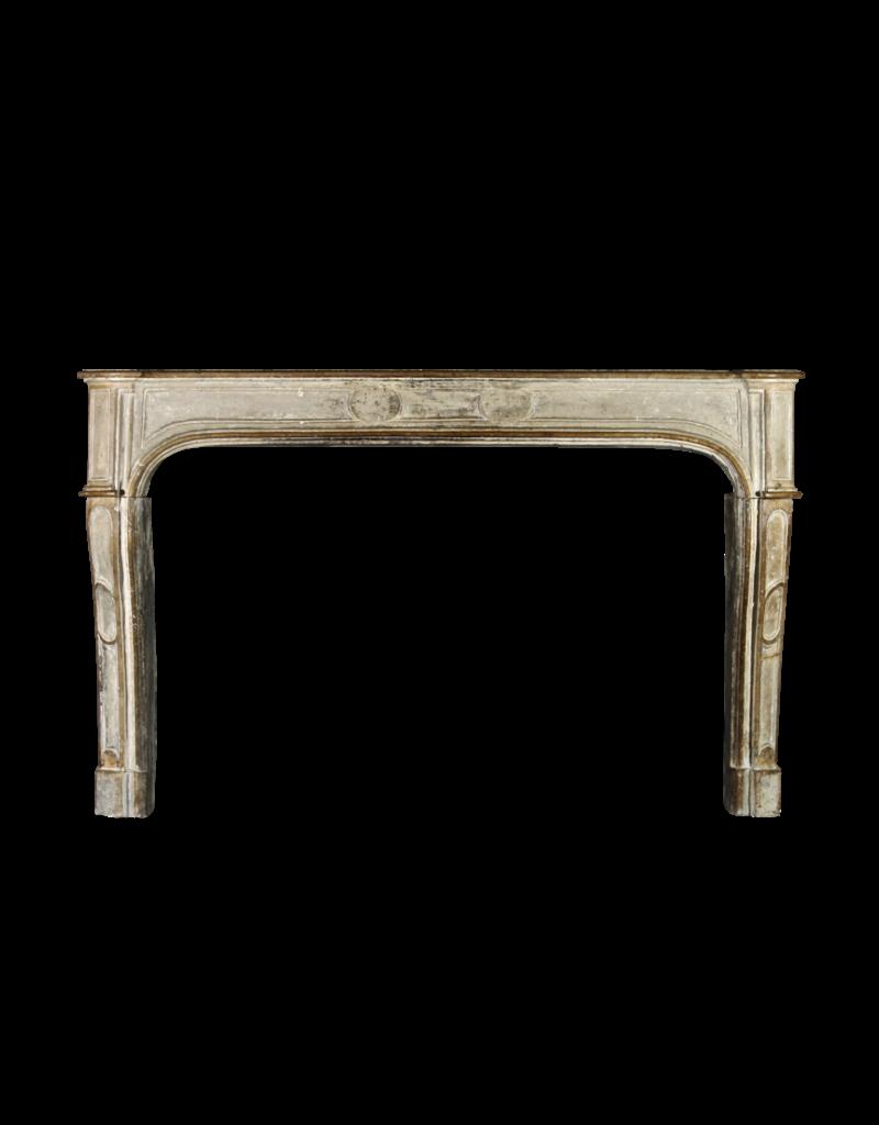 The Antique Fireplace Bank Breites Französisch Kalkstein Kamin Maske