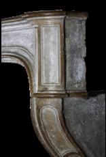 De Ancho De Piedra Caliza Francesa Chimenea